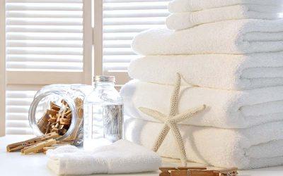 Vask af bomuldshåndklæder