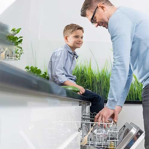 Vælg den rigtige opvaskemaskine